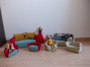 Leles baldeliai
