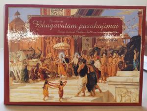 Iliustruoti bhagavatam pasakojimai/ senoji mistinė indijos kultūra ir vedinė išmintis