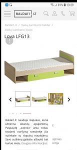 Parduodu 2 lovas vaikams