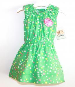 Puošni mėtinė carter's suknelė mergytei