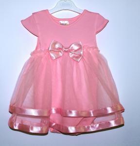 Puošni rožinė tiulio suknelė-smėlinukas