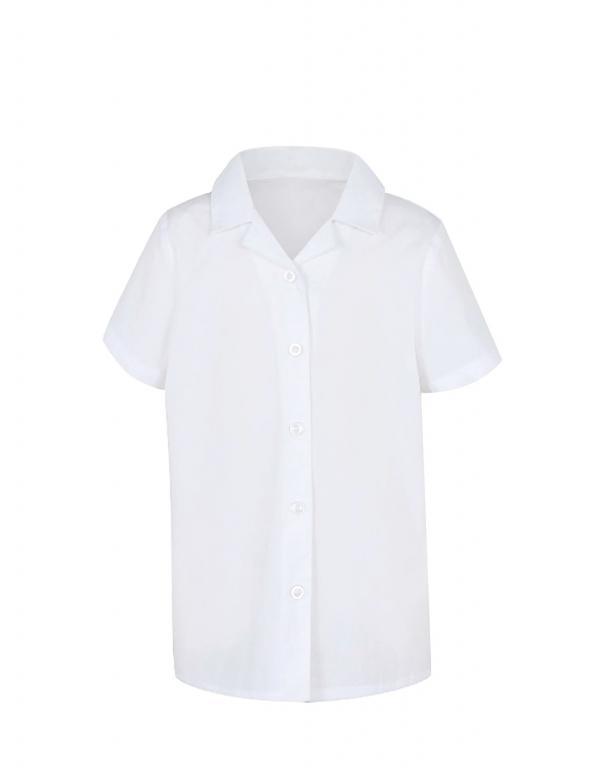Balti marškinukai mergaitėms