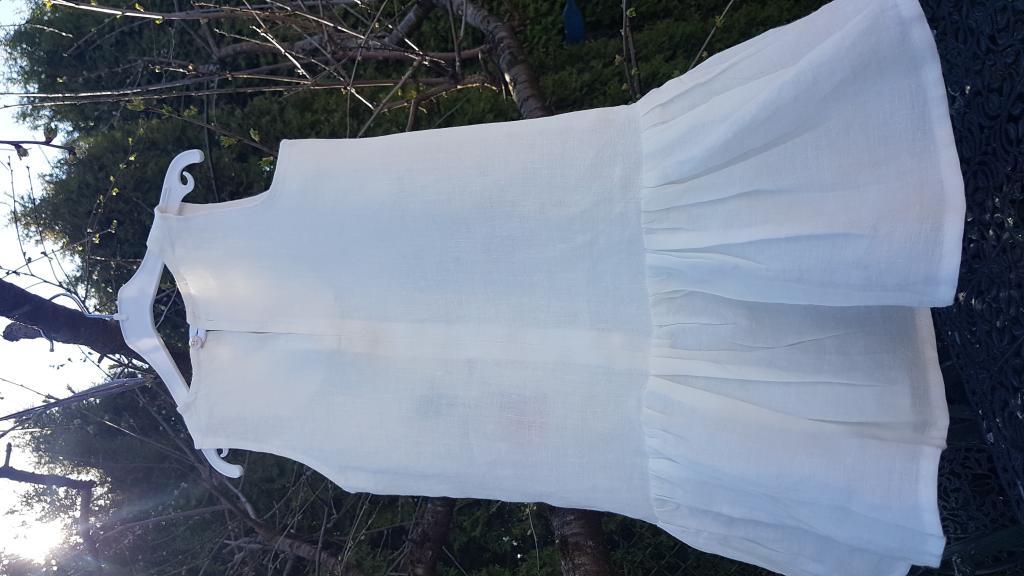 Vasarinė lininė suknelė