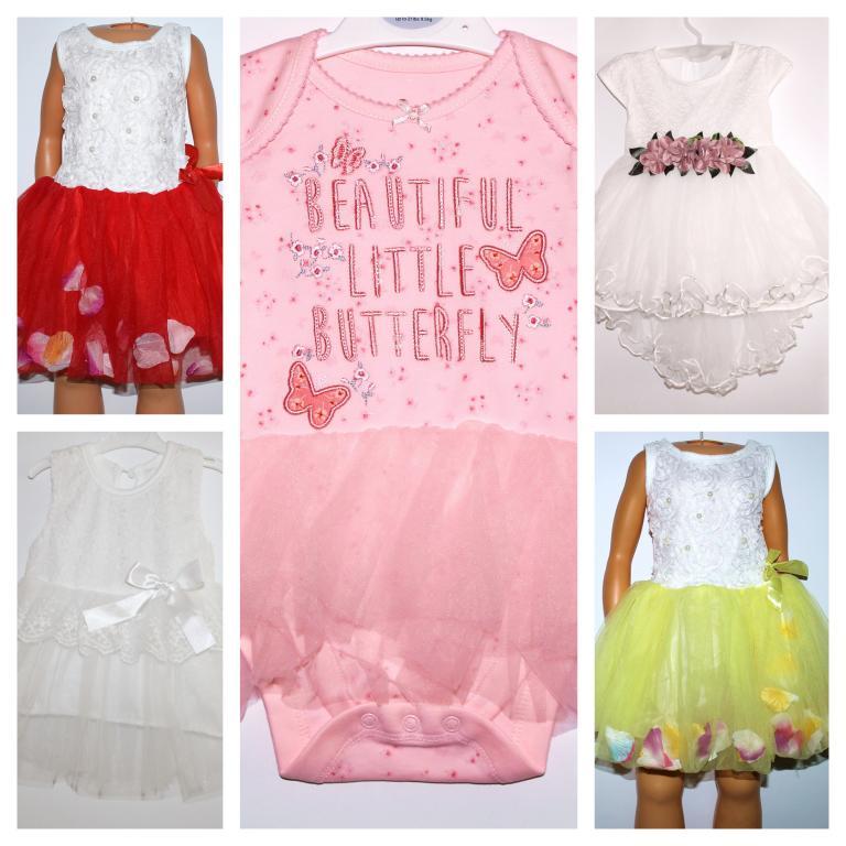 Puošnios tiulio suknelės mergaitėms
