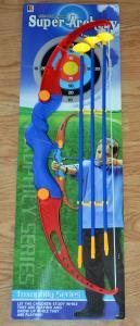 Žaislas lankas su strėlėmis