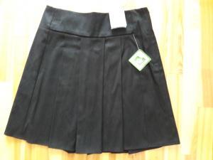 Juodas sijonas mergaitei