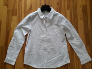 Balti marškinėliai mergaitei