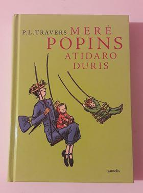 """P. l. travers """"merė popins atidaro duris"""""""