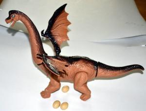 Dinozauras dedantis kiaušinius