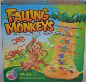 Žaidimas beždžionėlės akrobatės