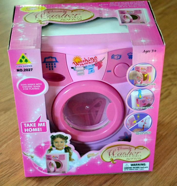 Žaislas skalbimo mašina
