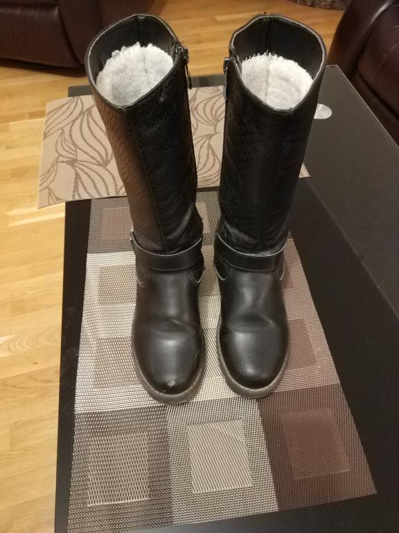 Žieminiai ilgaauliai batai
