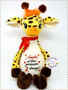 Vardinis pliušinis žaislas ''žirafytė''