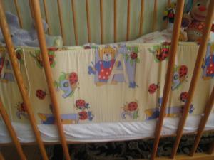 Apsaugeles kudikio lovytei