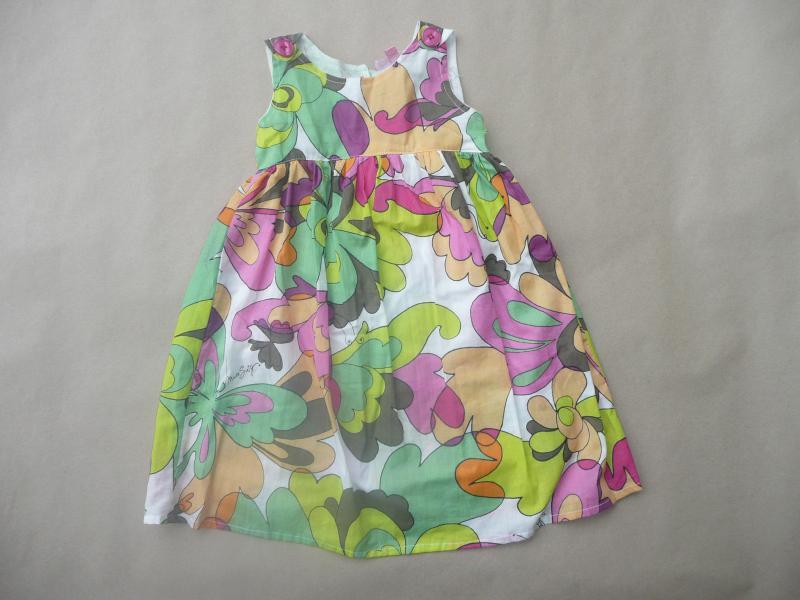 Gėlėta vasarinė suknelytė