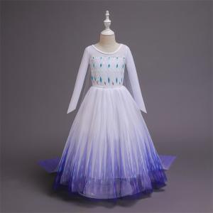 Naujo sezono violetinė elzos suknelė