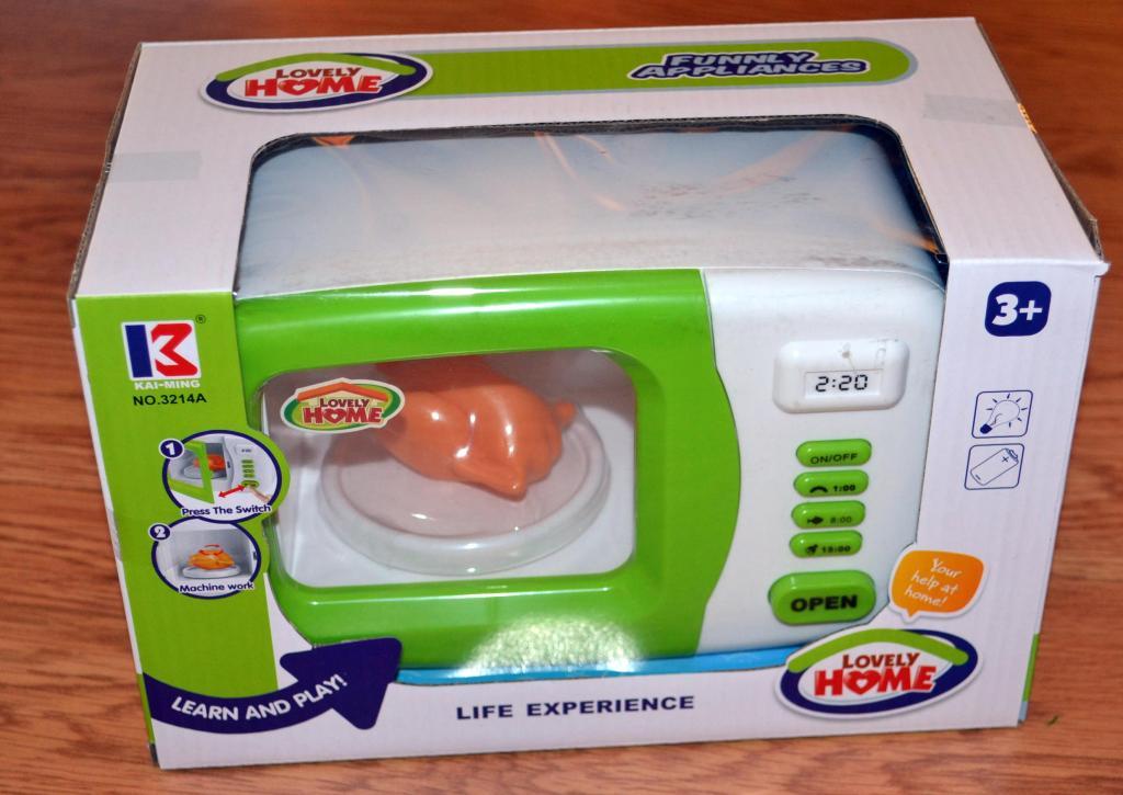 Žaislas mikrobangų krosnelė