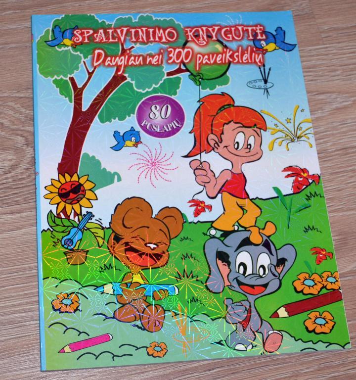 Knygelės spalvinimui 300 paveikslėlių