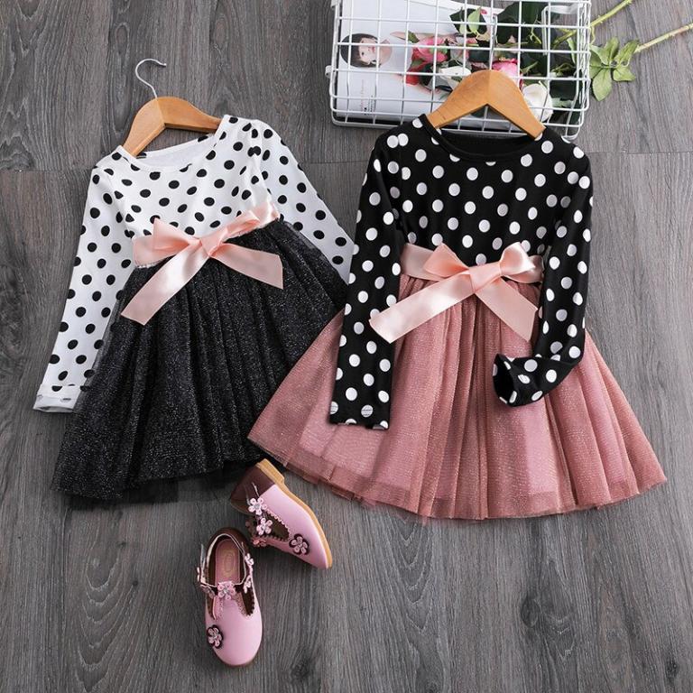 Taškuotos suknelės