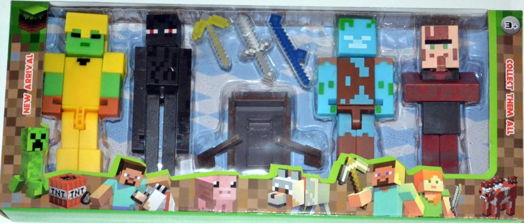 Žaislų rinkinys minecraft