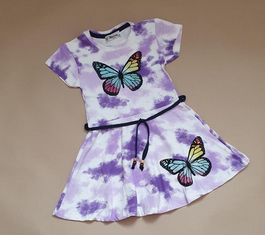 Suknelė su drugeliu