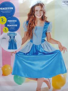 Melsva princesės suknelė su karūna