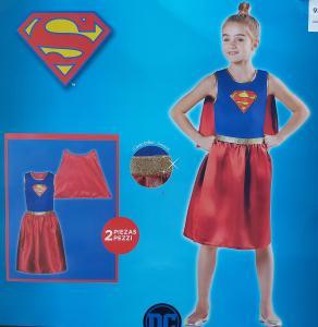 Supermenės karnavalinis kostiumas