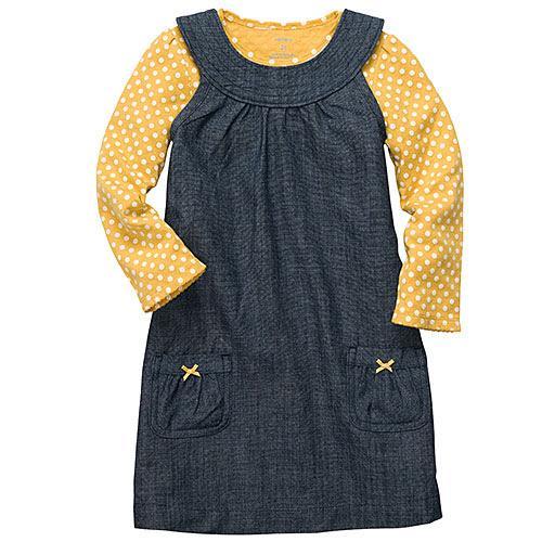 Plono džinso suknelė su bliuskute