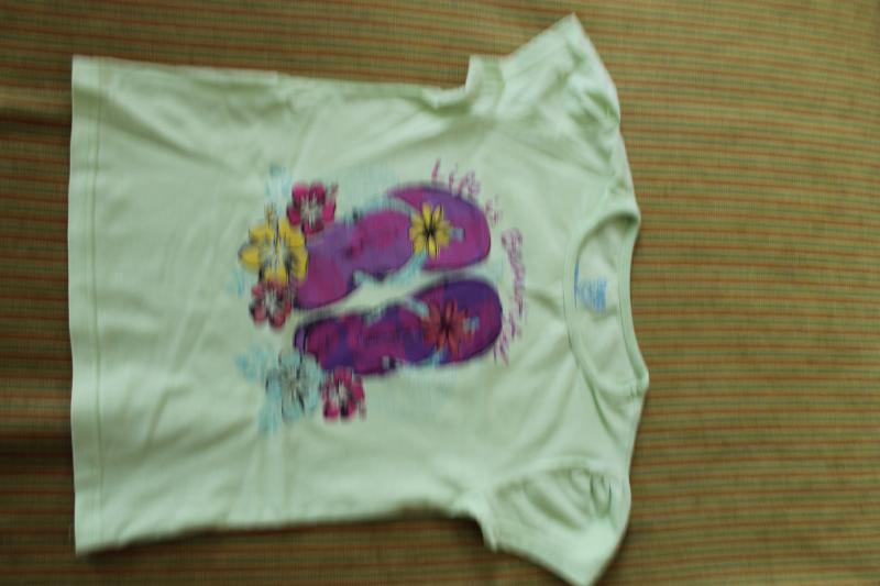 Mergaitiški marškinėliai