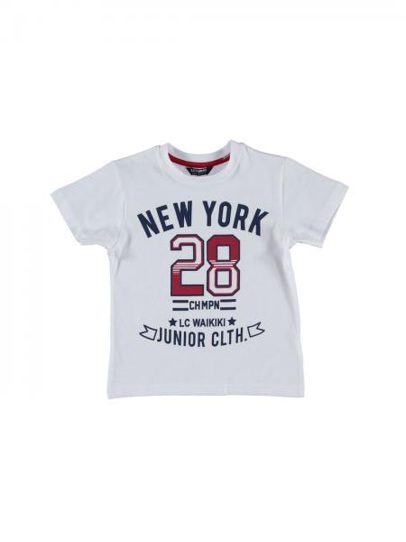 Balti marskineliai berniukui new york