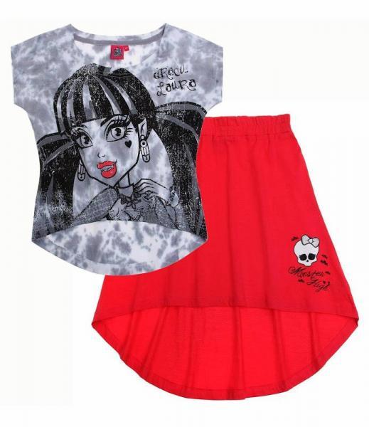 """Firminiai drabužiai ,,monster high"""" palaidinė + sijonas"""