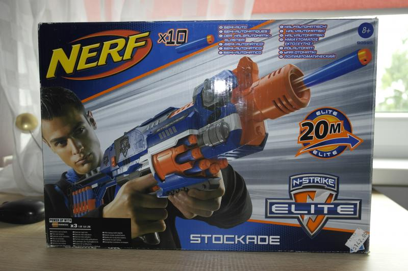 Nerf n-strike elite semi automatic