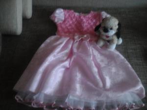 Nauja ,rozines spalvos suknele