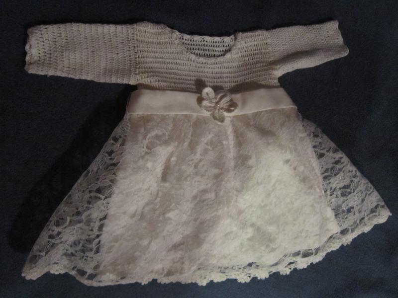 Kailiniai /krikšto suknelė / batukai 3-6 mėn