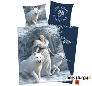 Patalynė mergina su vilkais