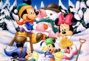 Mikis ir minė žiemą