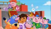 Dora gelbėja Sniego princesę